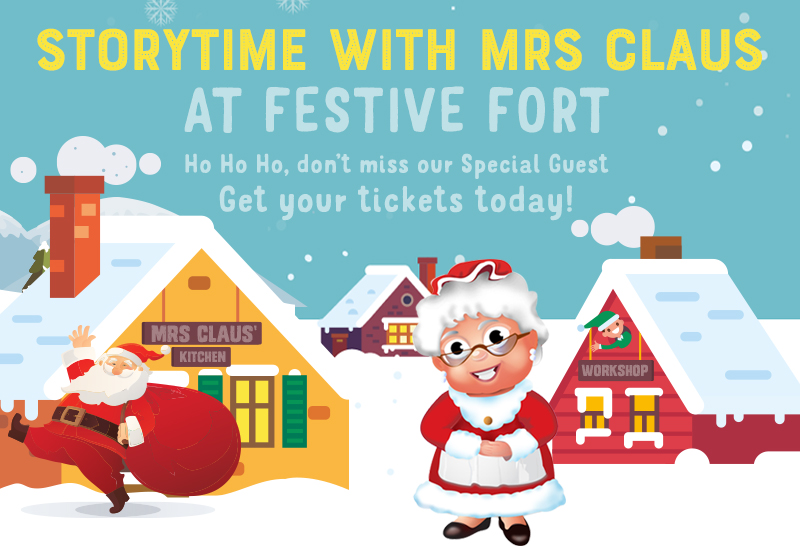 Storytime with Mrs Claus Image